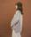 select MOCA(セレクトモカ)の「2WAYアシンメトリーニットスカート(畦編み×リブ編み切り替えデザインミディアム丈タイトスカート)(スカート)」|詳細画像