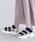 merlot(メルロー)の「カラーブロック厚底スポーツサンダル081-9015(サンダル)」|ピンク