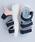 merlot(メルロー)の「カラーブロック厚底スポーツサンダル081-9015(サンダル)」|詳細画像