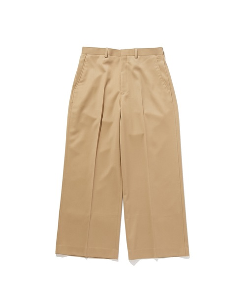 FALL2019 WIDE STRAIGHT SLACKS