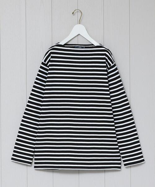 <SAINT JAMES>OUESSANT BORDER PULLOVER 20SS/カットソー.