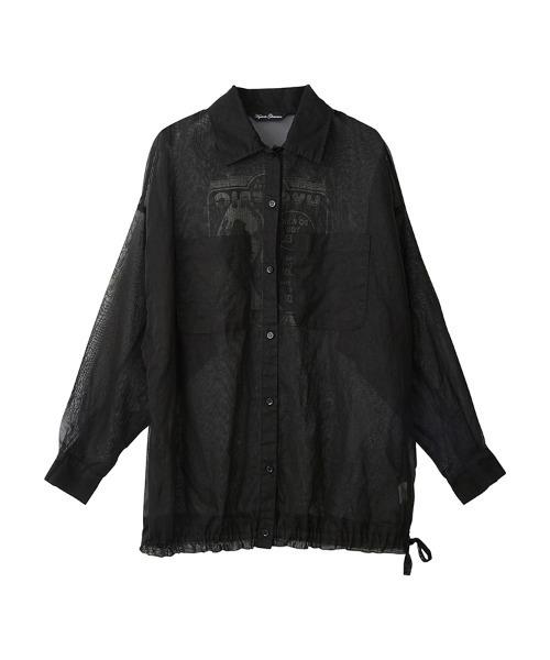 IN VIVID COLORS オーバーサイズシャツ