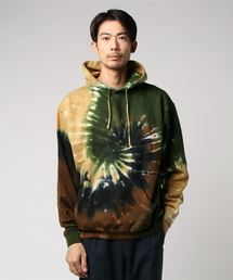 tone(トーン)のTIE-DYED PULLOVER HOOD  (UN)(パーカー)