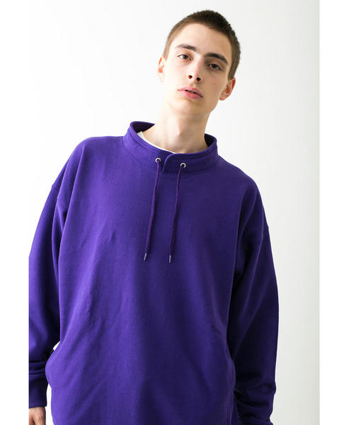 <monkey time> URAKE PULLOVER STAND/スウェット