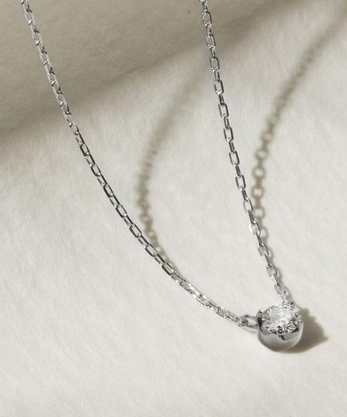 若者の大愛商品 K10ホワイトゴールドネックレス, TOMINE d193a2de