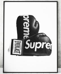 『Steph f Morris』Supreme Boxing Gloves / シュプリーム ロゴ ボクシング グローブ スニーカー 絵画 アート(ポスター/アート)