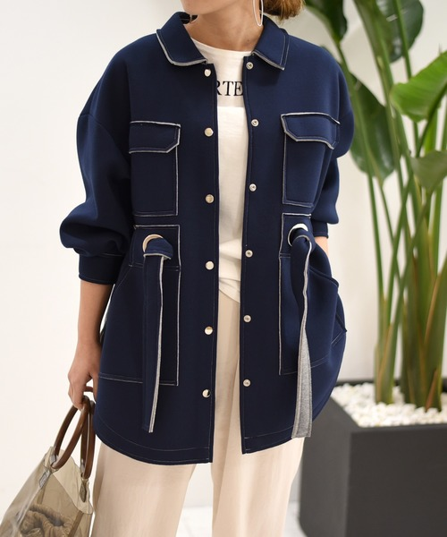 【Eimee Law】アイレットデザインサファリジャケット