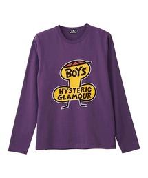 BOYS Tシャツパープル