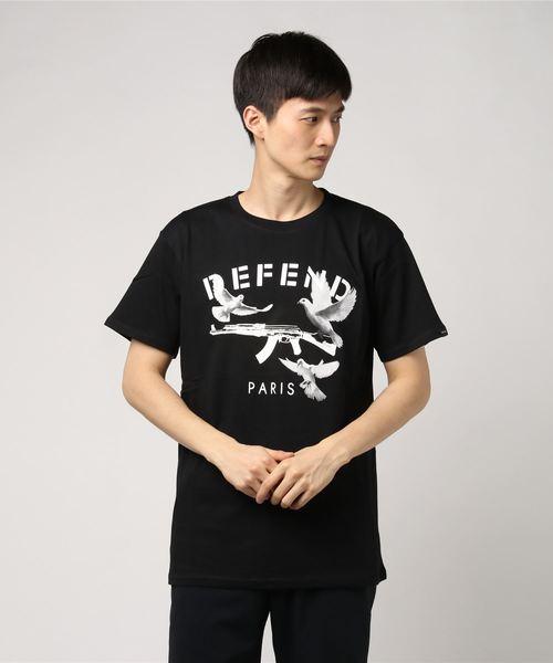 engels tシャツ tシャツ カットソー defend paris ディフェンド
