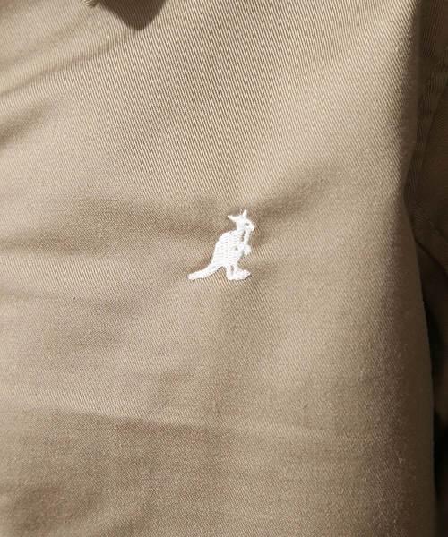 ZIP FIVE × KANGOL ワンポイント刺繍スイングトップ