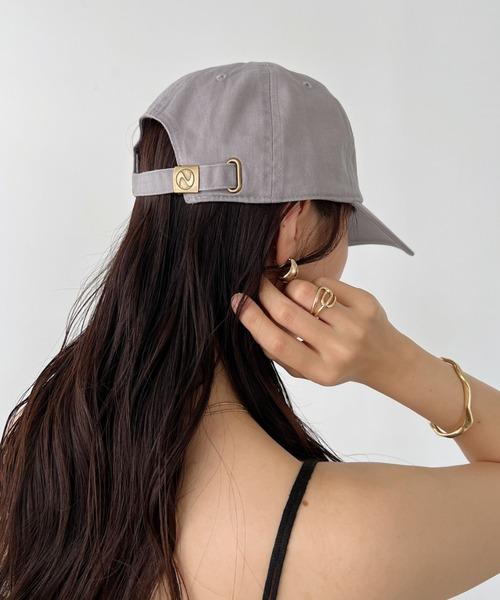 newhattan(ニューハッタン)の「【newhattan】  ニューハッタン キャップ STONE WASHED TWILL CAP(キャップ)」|グレー