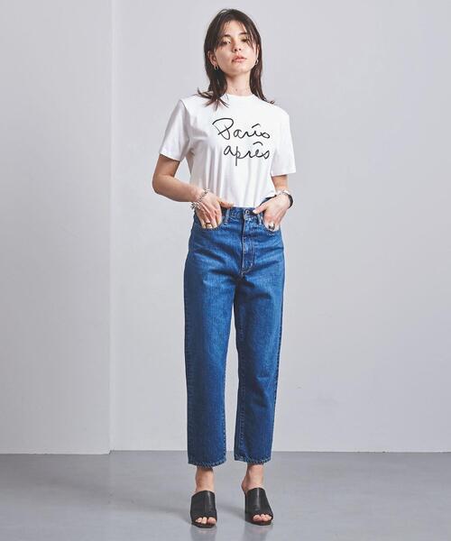 別注<m's braque(エムズ ブラック)>PARIS TOKYO Tシャツ