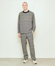 <UNITED ARROWS & SONS by DAISUKE OBANA> �T/CHECK LINE PANTS/パンツ