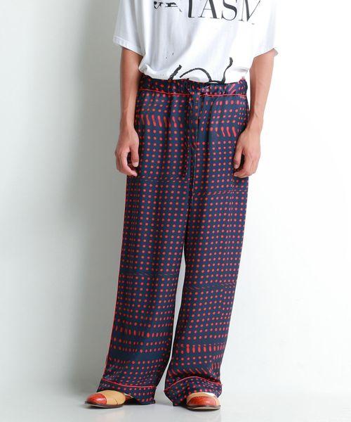 トミカチョウ 【セール】DOT EASY PANTS(パンツ) EASY|FACETASM(ファセッタズム)のファッション通販, FlamingoHip:583c5ebb --- apiceconstrutora.com.br
