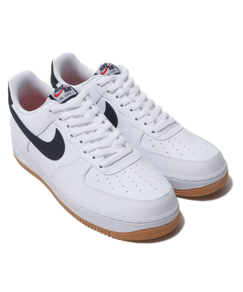 super cute authentic quality best price NIKE AIR FORCE 1 '07 2 (WHITE/OBSIDIAN-UNIVERSITY RED) 【SP】