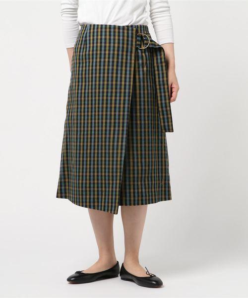 ファッション Wrapped Skirt, 陶磁器専門店CUP's 774d5855