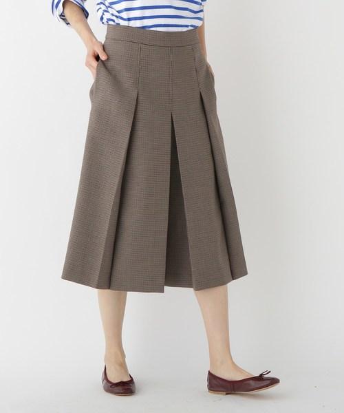 お気に入りの ウール混ガンクラブチェックキュロット(パンツ)|DRESSTERIOR(ドレステリア)のファッション通販, いい友:3c345d33 --- skoda-tmn.ru
