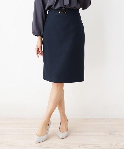 ヘリンボンタイトスカート