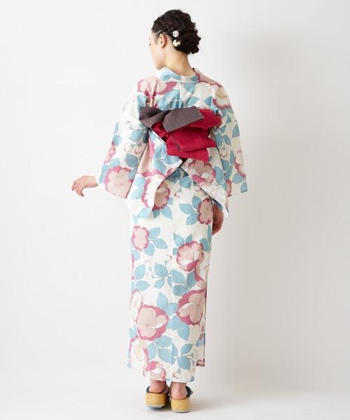 ふりふ(フリフ)の「浴衣「桜」(浴衣)」|詳細画像