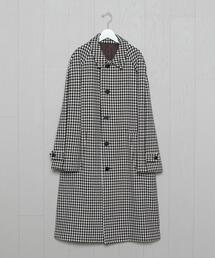 <UNUSED>HOUNDTOOTH COAT/コート.