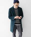 URBAN RESEARCH | UR MAPEL CHESTER COAT(ステンカラーコート)
