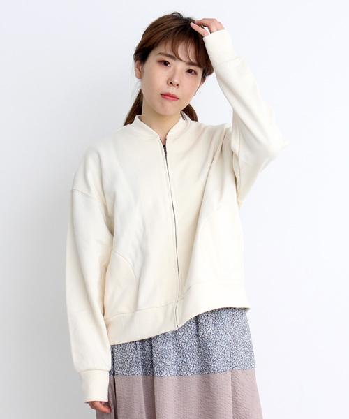 30/10 裏毛ZIPブルゾン