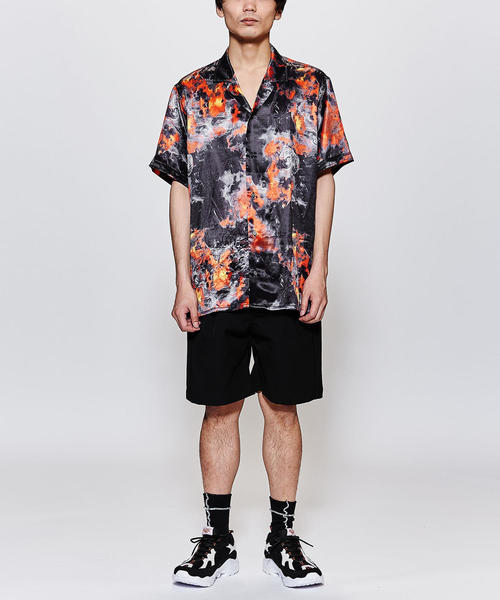 <STAMPD> PYRE SHIRT/シャツ