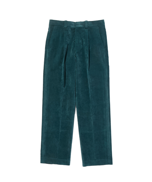 FALL2019 ONE TUCK TAPERED SLACKS