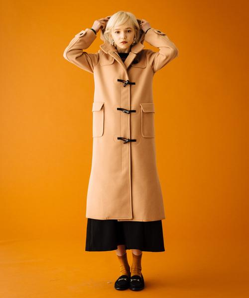 【500円引きクーポン】 Citron duffle coat coat// シトロンダッフルコート(ダッフルコート) LAYMEE(レイミー)のファッション通販, ウジタワラチョウ:9a104c25 --- vinylcowindows.com