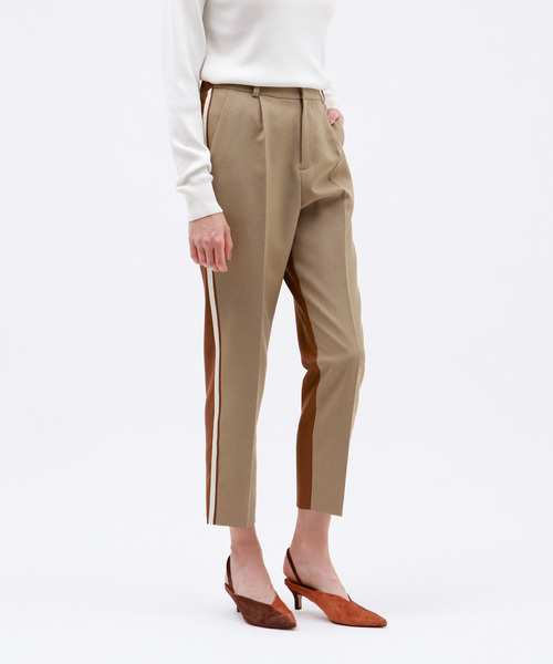 【在庫一掃】 WOMENS,ラブレス LOVELESSバイカラーテーパードパンツ(パンツ)|LOVELESS(ラブレス)のファッション通販, 大隅町:a2b0a2a9 --- bit4mation.de