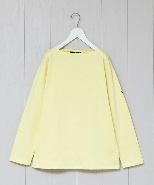 <SAINT JAMES>OUESSANT SOLID PULLOVER 20SS/カットソー.