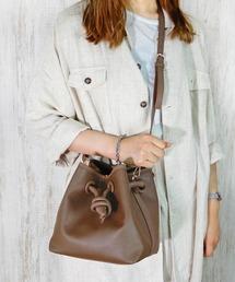 minia(ミニア)の3WAYノット巾着バッグ ◆(ショルダーバッグ)