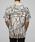 BLACK by VANQUISH(ブラックバイバンキッシュ)の「バーティカルラインオーバークルーネックTシャツ(Tシャツ/カットソー)」|詳細画像