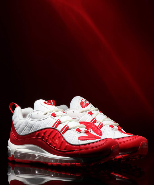 NIKE AIR MAX 98 (UNIVERSITY RED/UNIVERSITY RED)【SP】