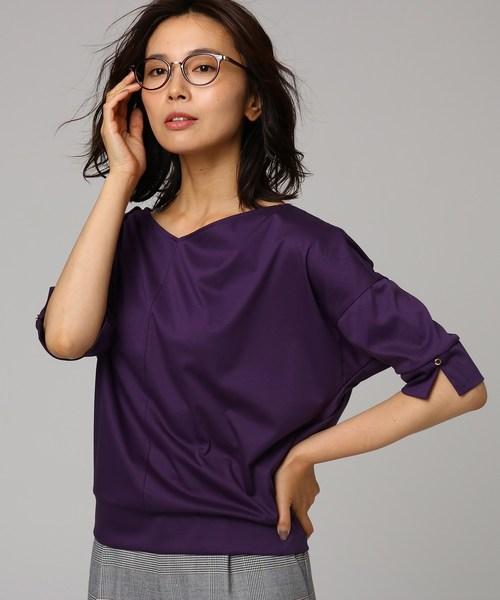 高い素材 [L]Vネックドルマンプルオーバー(Tシャツ/カットソー)|UNTITLED(アンタイトル)のファッション通販, アットネクスト:25ebf074 --- skoda-tmn.ru