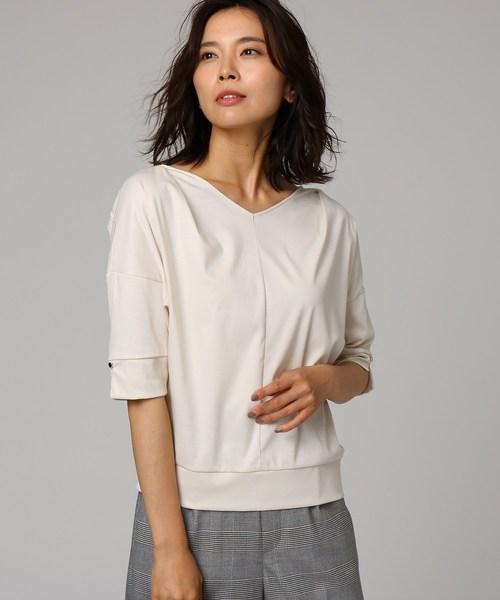 激安先着 [L]Vネックドルマンプルオーバー(Tシャツ/カットソー) UNTITLED(アンタイトル)のファッション通販, OnlyOne shop:240e294b --- skoda-tmn.ru