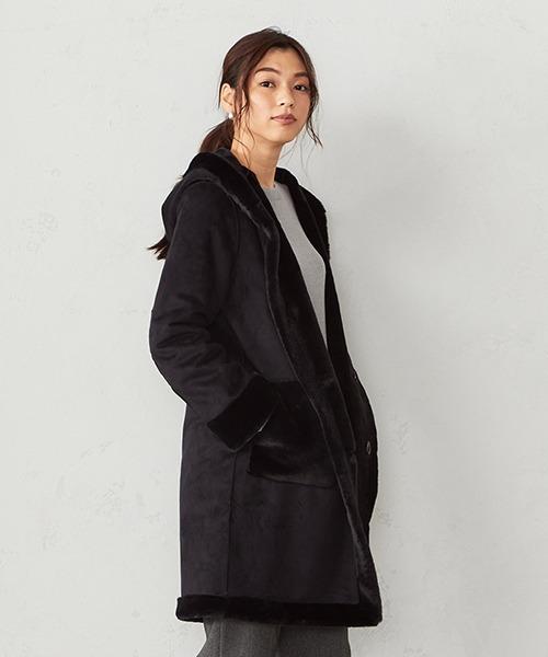 【代引可】 《リバーシブル》 CA フェイクムートンコート(ムートンコート)|COMME COMME CA CA ISM(コムサイズム)のファッション通販, Daylight:d604ba5a --- skoda-tmn.ru