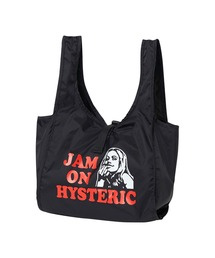 JAM ON HYSTERIC ミニエコバッグブラック