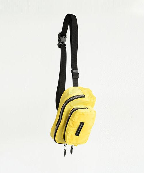 STANDARD SUPPLY(スタンダード サプライ)の「PACKABLE WAIST BAG パッカブルウエストバッグ(ボディバッグ/ウエストポーチ)」|イエロー