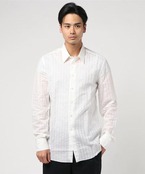 【MASSIMO LA PORTA】レギュラーカラーシャツ