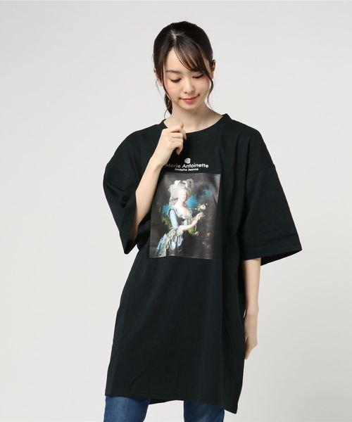 エリザベスフォトプリント半袖ビッグTシャツ