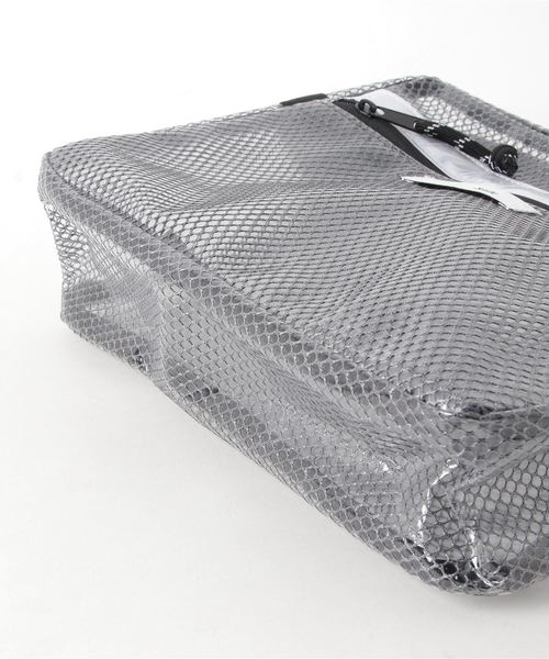 [Sinfu シンフ]LATTICE VINYL BOX SHOULDER ビニール ボックス ショルダーバッグ