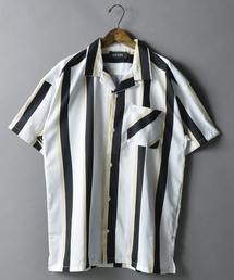 AZIONE(アジオネ)のAZIONE/アジオネ/ストライプビッグシャツ(シャツ/ブラウス)