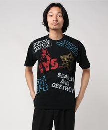HYS SCRATCH Tシャツブラック