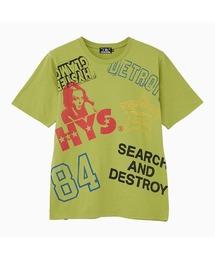HYS SCRATCH Tシャツグリーン