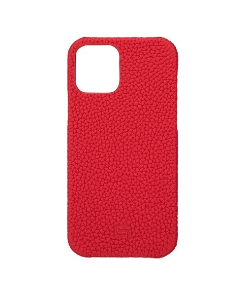 【iPhone12/12 Pro ケース】Shrunken-Calf Leather Shell Case