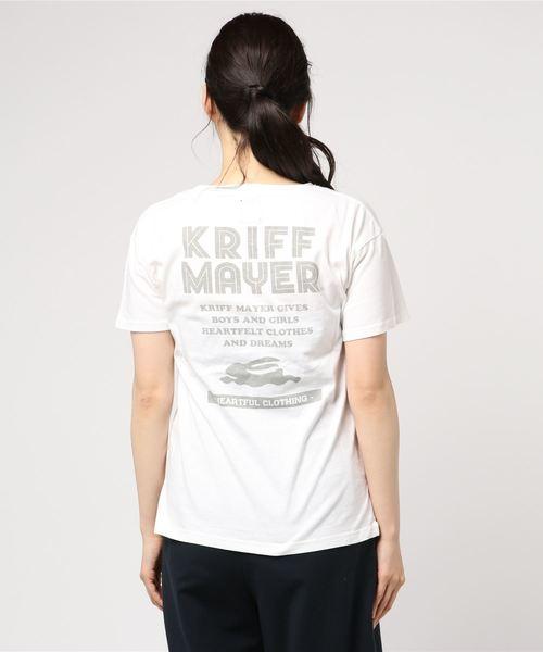 ブランドロゴ半袖ポケットTシャツ