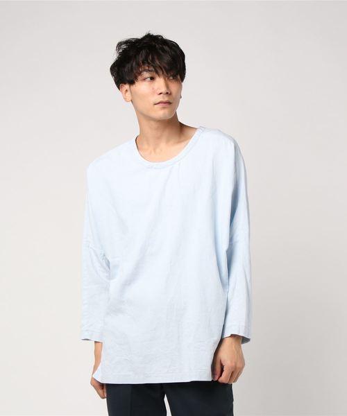 人気特価 【セール】YANTOR Bleach Long Denim Long Bleach Denim Pullover(Tシャツ/カットソー)|ability(アビリティ)のファッション通販, 家具インテリアショップ イーグル:e1f94769 --- heimat-trachtenbote.de