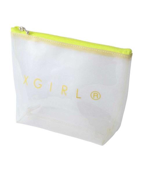 1c76d71edb04 CLEAR POUCH(ポーチ) X-girl(エックスガール)のファッション通販 ...
