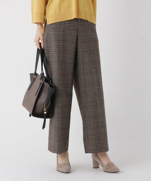 新品登場 【Marisol10月号掲載】ツイーディチェックワイドパンツ(パンツ) STORE ONLINE SOFUOL(ソフール)のファッション通販, アイカワマチ:43013c41 --- steuergraefe.de